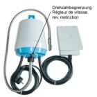 Hängemotor JSB 18 DS, biegs. Welle, Fußpedal & Drehzahlbegrenzung