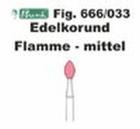 Schleifkörper Edelkorund rosa Fig. 666 033