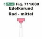 Schleifkörper Edelkorund rosa Fig. 711 080