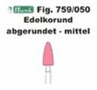 Schleifkörper Edelkorund rosa Fig. 759 050