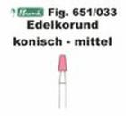 Schleifkörper Edelkorund rosa Fig. 651 033