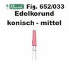 Schleifkörper Edelkorund rosa Fig. 652 033