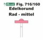 Schleifkörper Edelkorund rosa Fig. 716 160