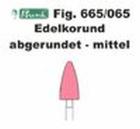 Schleifkörper Edelkorund rosa Fig. 665 065