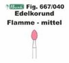 Schleifkörper Edelkorund rosa Fig. 667 040