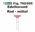 Schleifkörper Edelkorund rosa Fig. 702 095