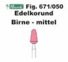 Schleifkörper Edelkorund rosa Fig. 671 050