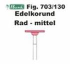Schleifkörper Edelkorund rosa Fig. 703 130
