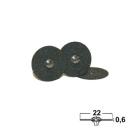 Trenn- & Separierscheiben: Siliciumcarbid, Ø 22x0,6 mm