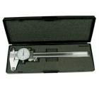 Messschieber, 0,01 - 150 mm, analog mit Uhr
